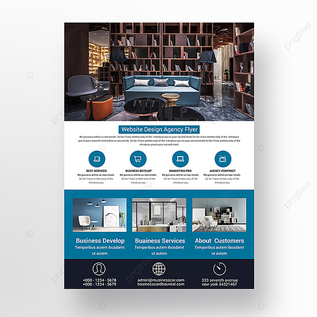 computer service flyer template for free download on pngtree