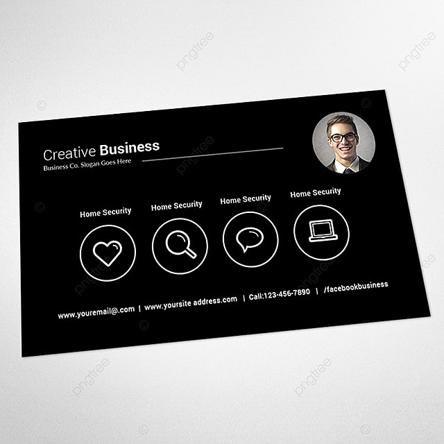 Creative business card template for free download on pngtree creative business card template friedricerecipe Gallery
