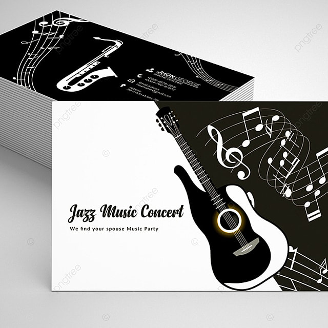 Jazz festival business card template for free download on pngtree jazz festival business card template reheart Choice Image