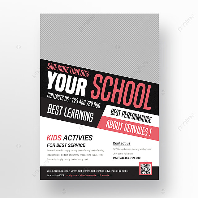 kids    school flyer template for free download on pngtree