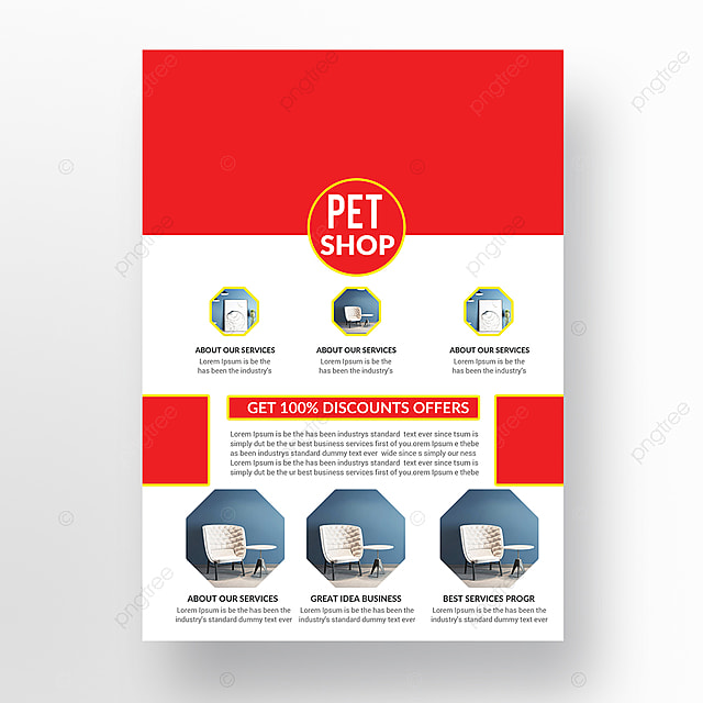 Pet Shop Flyer Template Template For Free Download On Pngtree