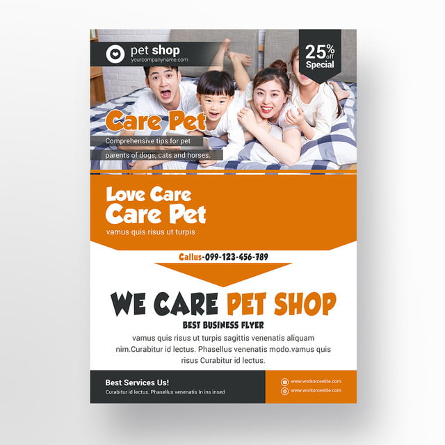 Pet Shop Flyer Template Red Dogs Template For Free Download On Pngtree