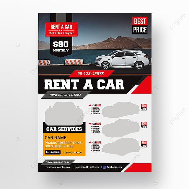 A Car Flyer Template