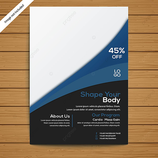 Gym Flyer Template For Free Download On Pngtree