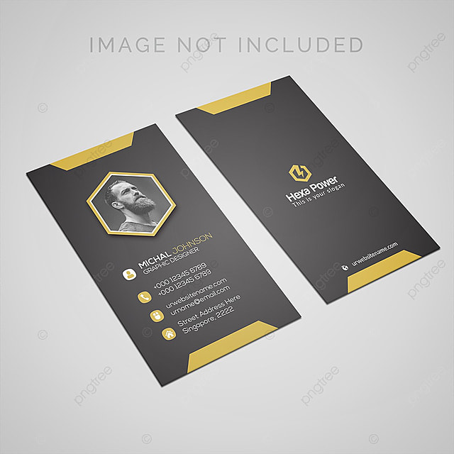 Vintage Golden Style Business Card Template For Free Download On Pngtree