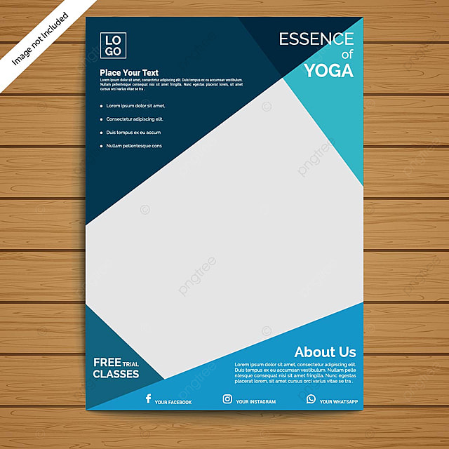 Yoga Flyer Template Template For Free Download On Pngtree