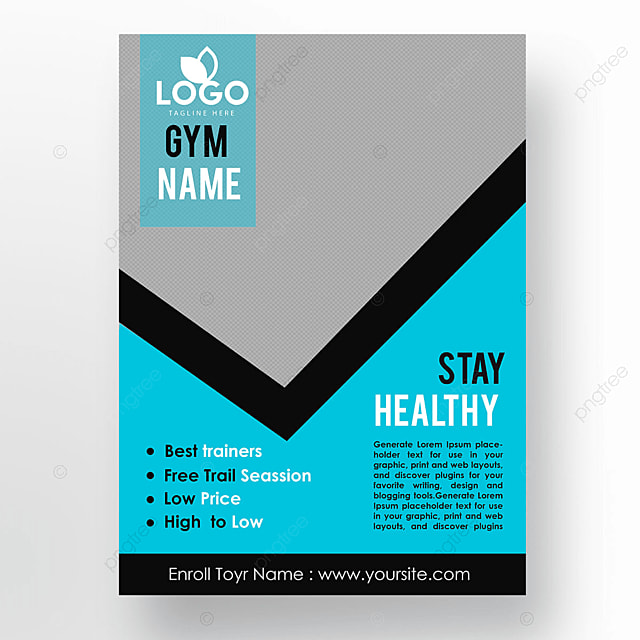 Gym 5 Template for Free Download on Pngtree