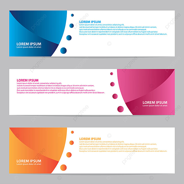 modern banners template for free download on pngtree