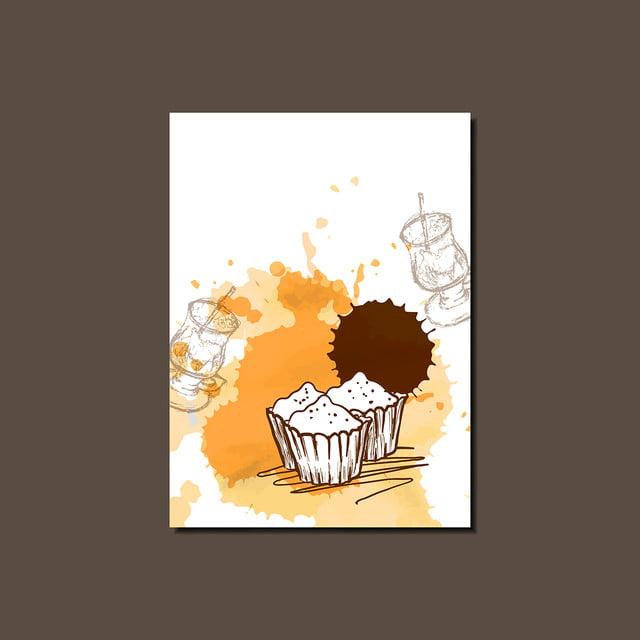 Modele De Rapport De Cupcakes Modernes Affiche Brochure Banniere Ou Modele De Telechargement Gratuit Sur Pngtree