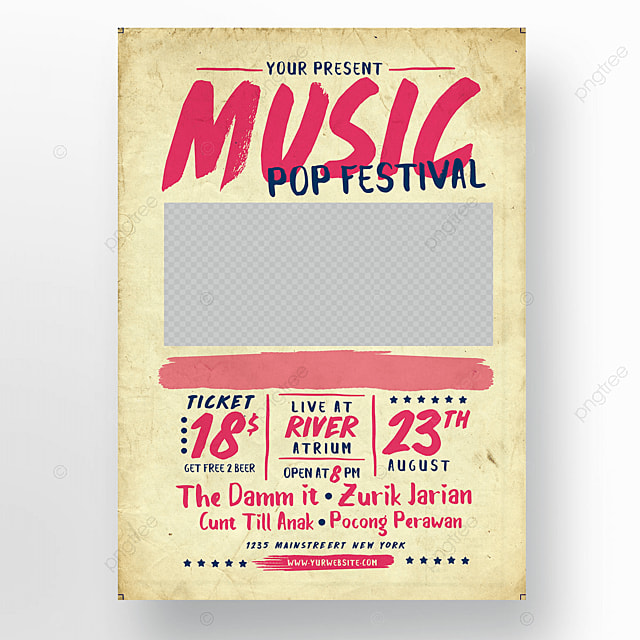 festival de musique pop mod u00e8le de t u00e9l u00e9chargement gratuit