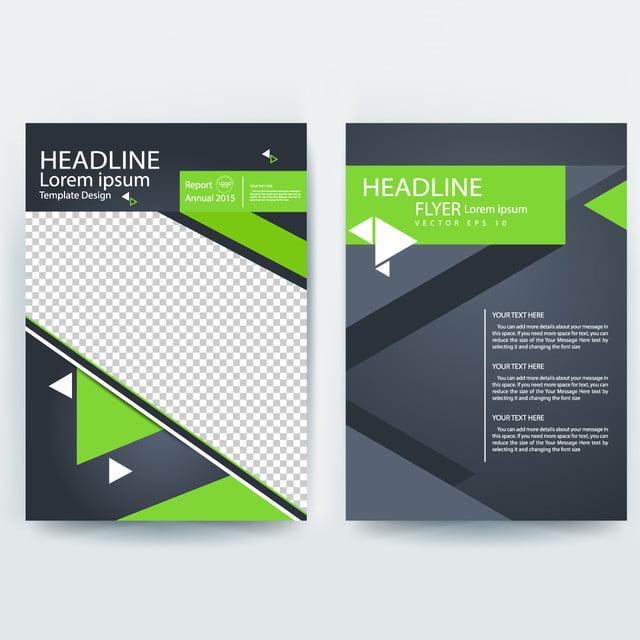 Corporative Business Flyer Brochure Vector Template Design Template