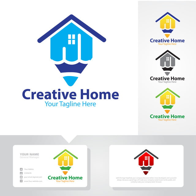 Creative Home Logo Designs Template For Free Download On Pngtree