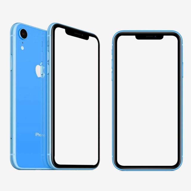 Iphone Xs Xr Mockup Template