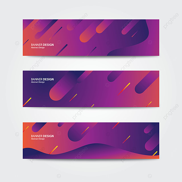 vector purple abstract banner design template template for free