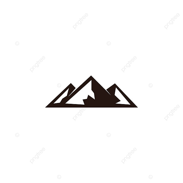 mountain peak logo template template for free download on pngtree