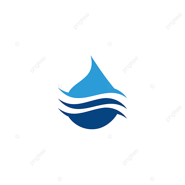 water drop logo template vector illustration design template for