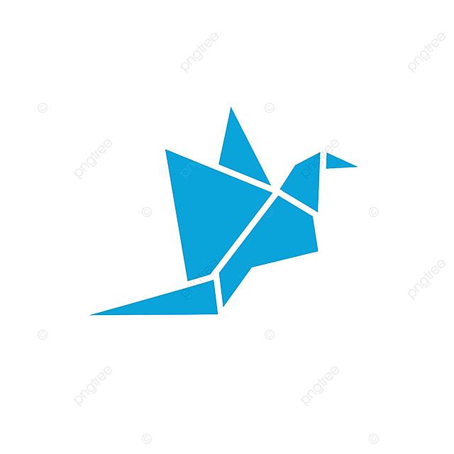 Abstrakcyjny Ptak Logo Ikona Projekt Wzoru Wektor Szablon Do