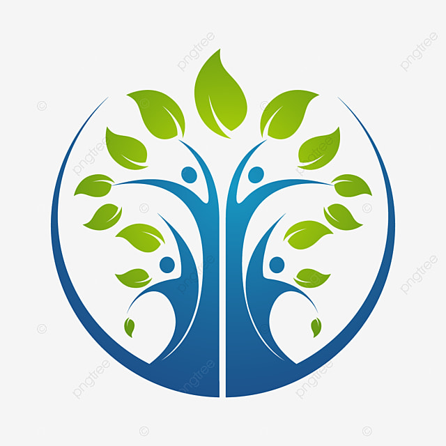 Family Tree Symbol Icon Logo Design Template Illustration Template