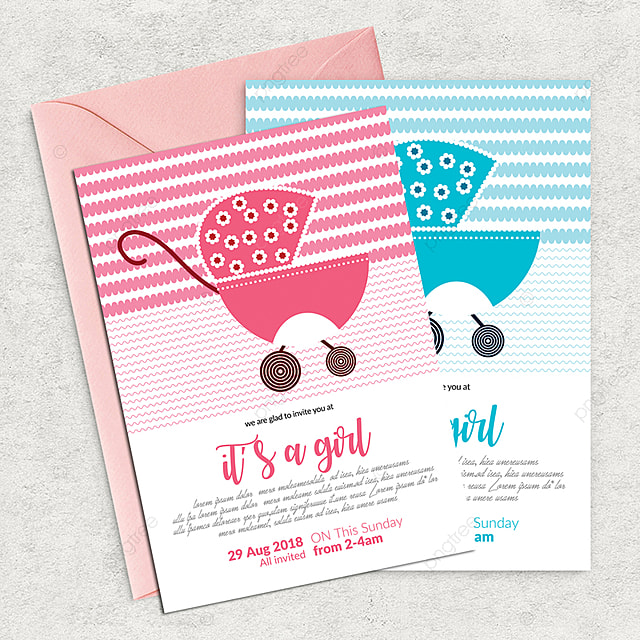 Baby Shower Editable Flyer Template