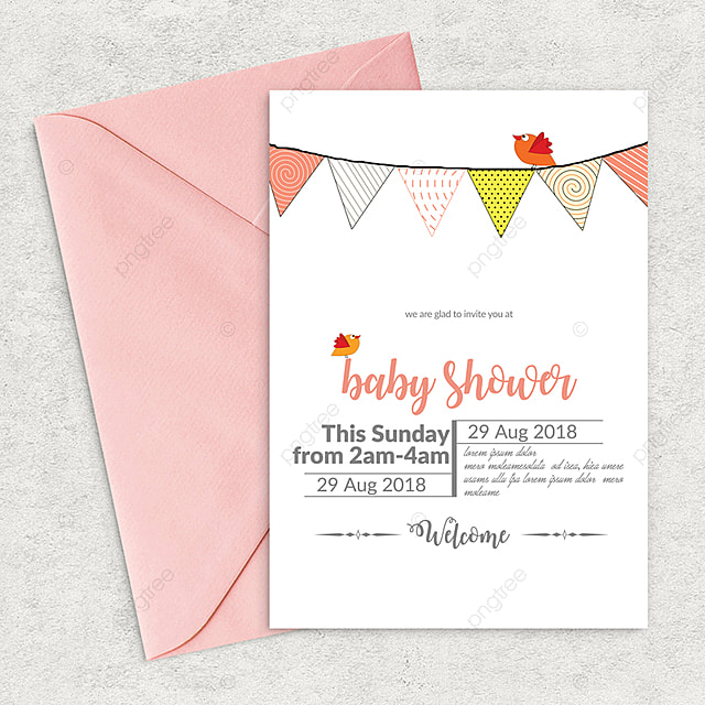 Baby Shower Flyer Template Template For Free Download On Pngtree