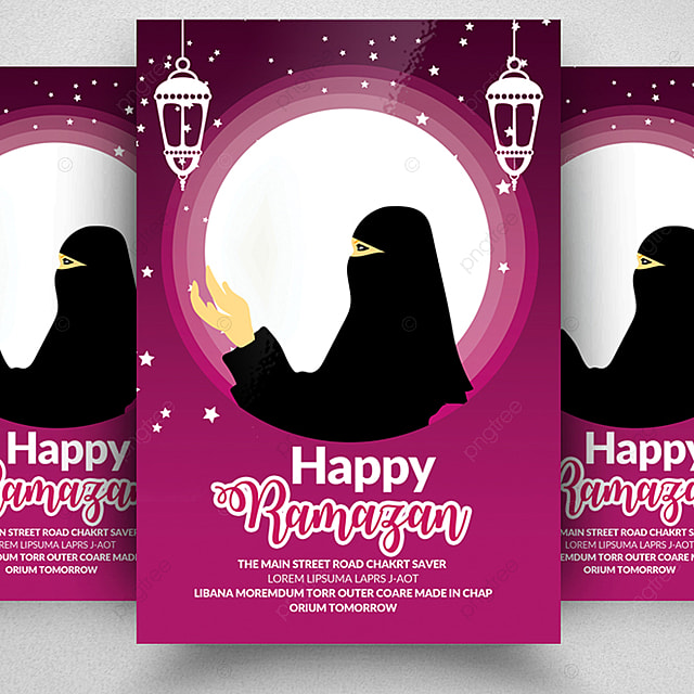 ramadan eid flyer template template for free download on