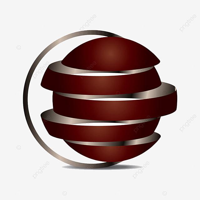 logo 3d  u00e9l u00e9gante illustration mod u00e8le de t u00e9l u00e9chargement