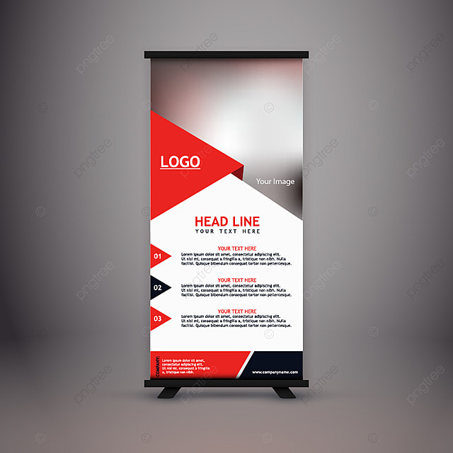 corporate standee template for free download on pngtree