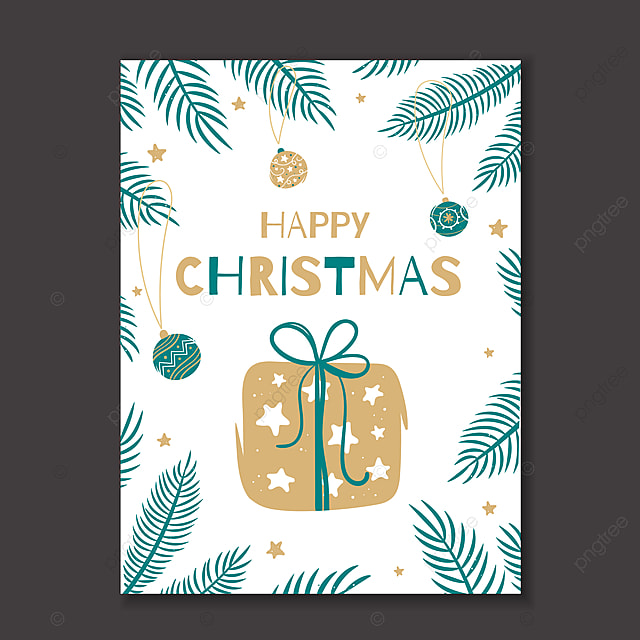 Happy christmas greeting card with a gift on the background of happy christmas greeting card with a gift on the background of template m4hsunfo