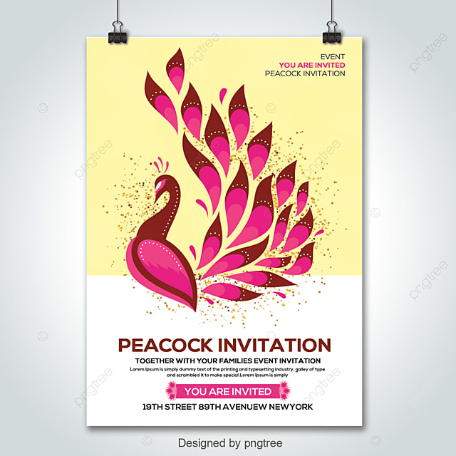 Peacock Template For Free Download On Pngtree