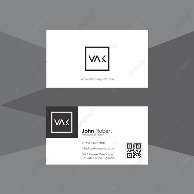Professionelle Visitenkarte Design Template Vorlage Zum