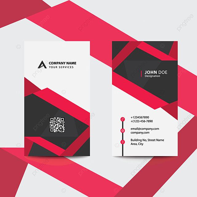 Saubere Flache Design Rot Fache Stil Corporate Business