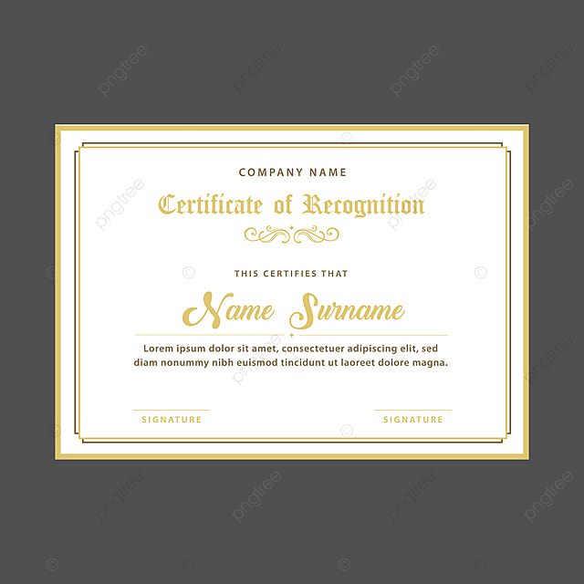 certificate design template for free download on pngtree