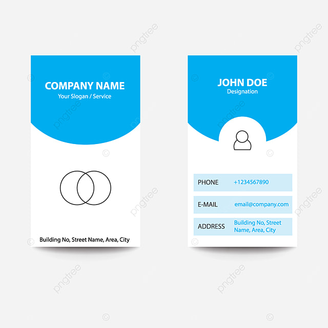 Pngtree提供現代概念應用程序設計名片app開發者藍色模板下載可商用模板素材