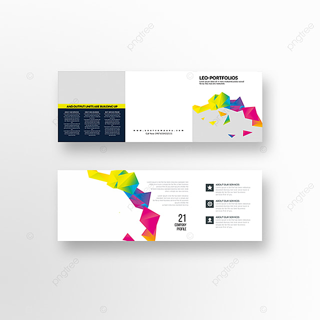 square trifold brochure templates template for free download on pngtree
