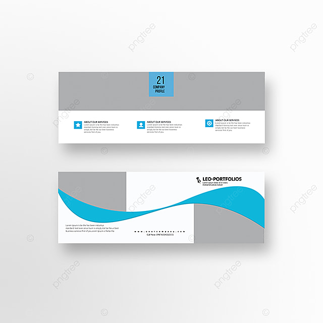 square trifold corporate brochure templates template for free