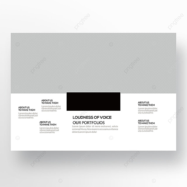trifold corporate brochure templates template for free download on