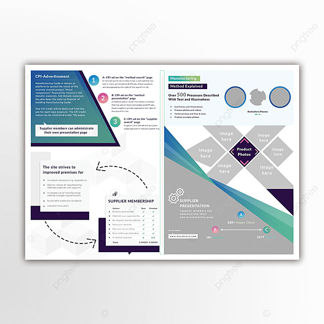 Multipurpose Bi Fold Brochure Template Template For Free Download On