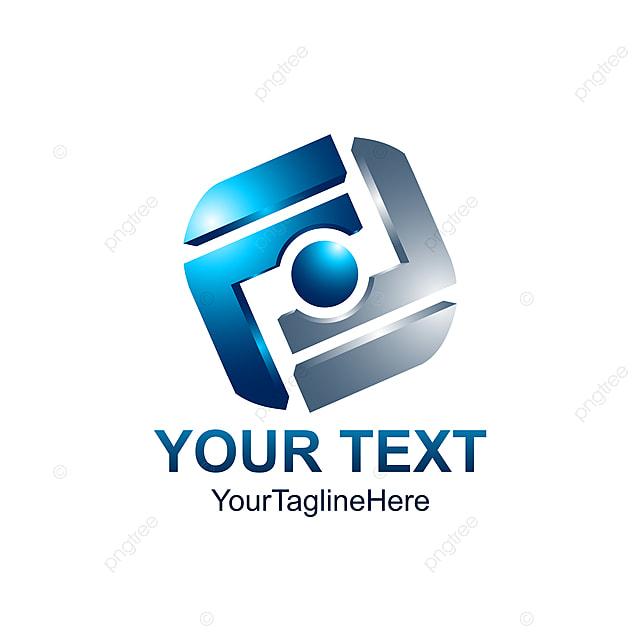 Estilo 3d Abstract Logo Parecido A Las Letras F Alfabeto Inicial