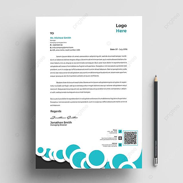 Corporate Letterhead Template: Corporate Letterhead Template Template For Free Download