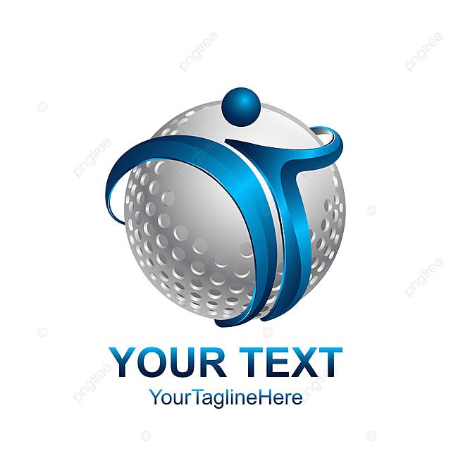 c077635f3 initial letter t logo template colored silver blue globe design Template