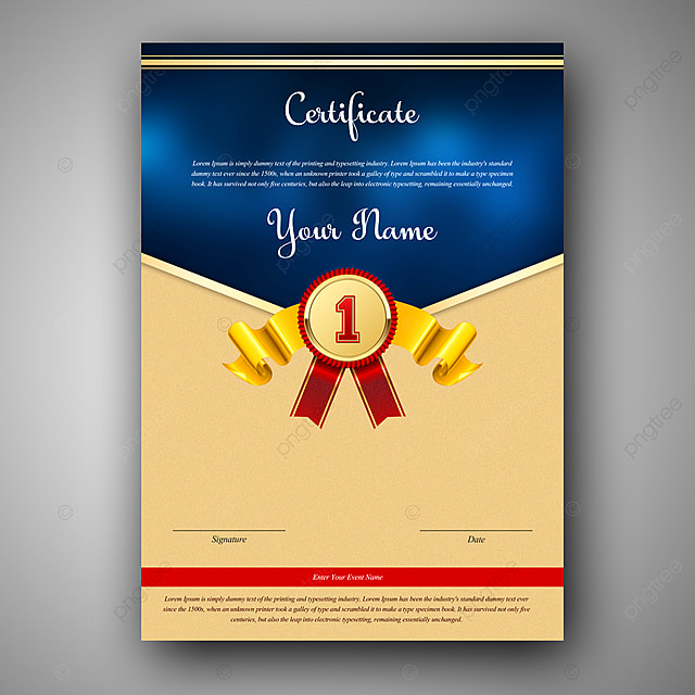 download certificate template psd.html