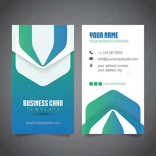Visitenkarte Design Template Vorlage Zum Kostenlosen