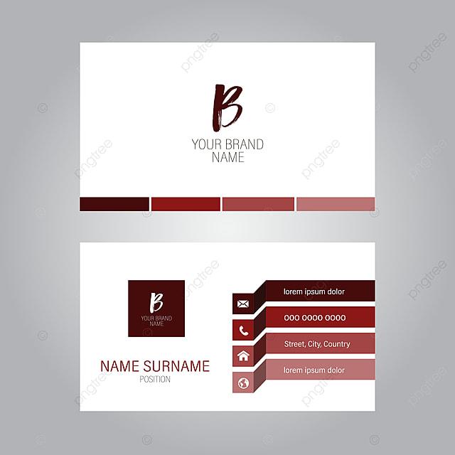 Moderne Visitenkarte Design Vorlage Zum Kostenlosen Download