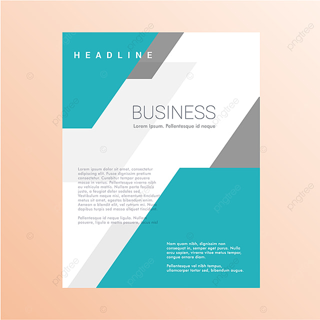 Modern Minimalist Poster Design Template For Free Download