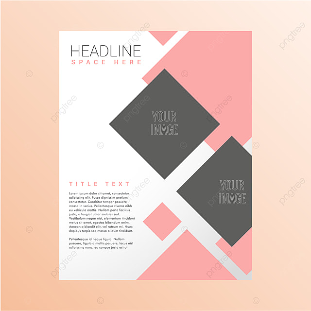 modern pastel poster design template for free download on