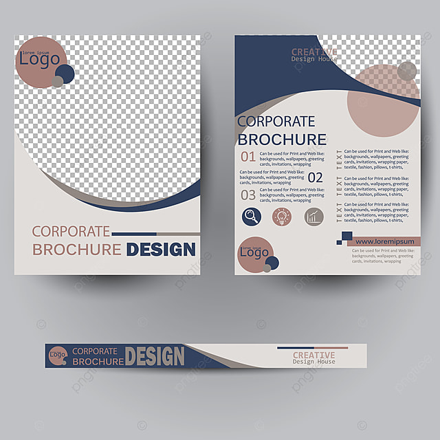 Minimal Covers Design Brochure Flyer Template For Free Download