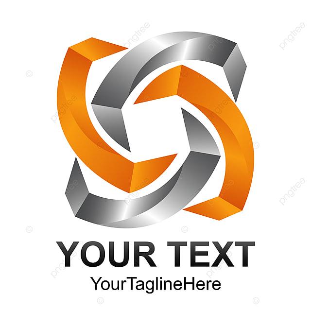 Creative Abstract 3d Geometric Letter J Vector Logo Design Template