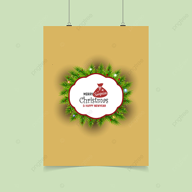 Merry Christmas Suprice Xmas Label Template Template For Free