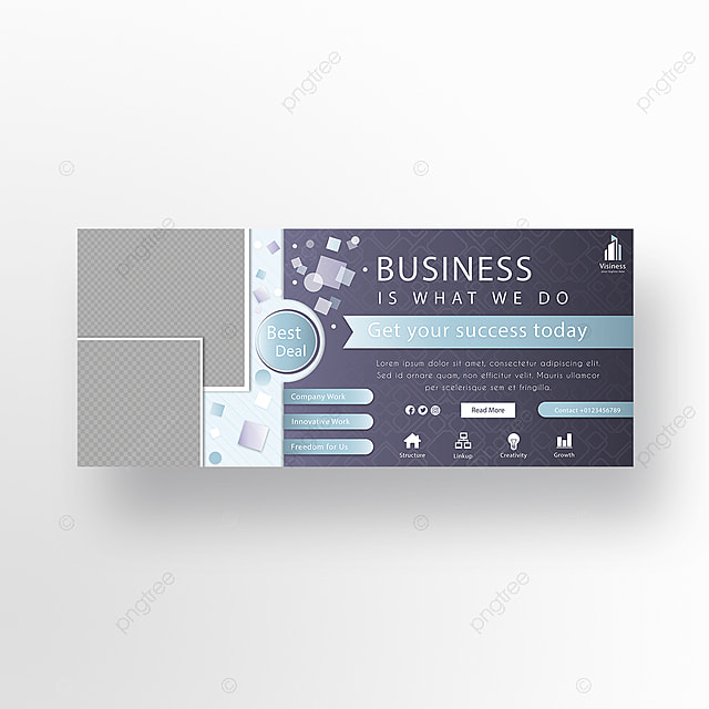 Business Facebook Cover Banner Template