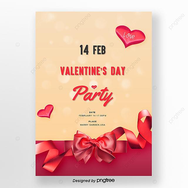 Miłość W Sposób Prosty Rytuał Czerwony Szablon Na Walentynki Szablon